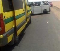 إصابة شخصين في تصادم ميكروباص و«توك توك» بالدقهلية