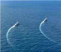 القوات البحرية المصرية والفرنسية تنفذان تدريباً بحرياً عابراً في نطاق الإسطول الشمالي