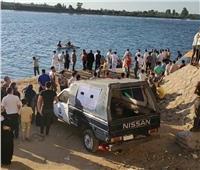 انتشال جثة طالب غرق بمياه النيل بالزرقا في دمياط