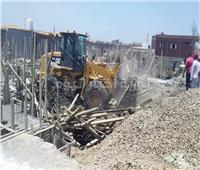 إزالة العشوائيات بحي جنوب بورسعيد