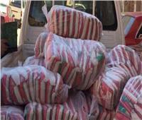ضبط نصف طن سكر تمويني وألبان منتهية الصلاحية قبل بيعها في السوق السوداء