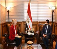 وزير الشباب والرياضة يلتقي ممثل صندوق الأمم المتحدة للسكان في مصر