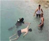 انتشال جثة طفل من البحر اليوسفي في المنيا