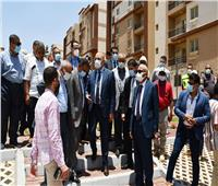 وزير الإسكان يتفقد وحدات «سكن لكل المصريين» بمدينة حدائق العاصمة | صور