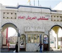 وصول مصابون من قطاع غزة للعلاج في مستشفى العريش العام