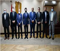 أشرف صبحي يلتقي لجنة الشباب والرياضة بمجلس الشيوخ