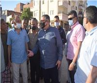 محافظ البحر الأحمر يوجه شركة المياه بسحب التراكمات من منطقة السنتر الليبي