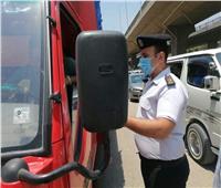 حملات مكبرة بالطالبية للكشف على السائقين ضد المخدرات .. صور