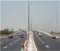 الحالة المرورية بالطرق السريعة في محافظة القليوبية الاثنين 7 يونيو