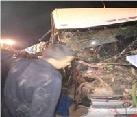 ارتفاع ضحايا حادث تصادم أتوبيس الوادي الجديد لـ7 وفيات و21 مصابًا