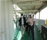 الفريق ربيع: «التكريك» بمشروع إزدواج القناة بالبحيرات بلغ 557 ألف مترًا مكعبًا