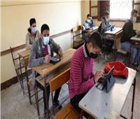 فرحة طلاب الشهادة الإعدادية بالشرقية عقب امتحان العلوم
