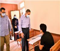 محافظ الغربية يتابع امتحانات الإعدادية بقري زفتى