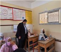 «وكيل تعليم شمال سيناء» يتابع امتحانات الشهادة الإعدادية