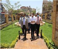 محافظ المنوفية يفتتح حديقة «تحيا مصر» بمنوف