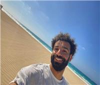 محمد صلاح يستمتع بإجازته الصيفية في العلمين الجديدة| صور