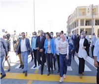 محافظ دمياط تفتتح شارعي «الثورة والمحكمة» بكفر سعد بتكلفة 13 مليون جنيه