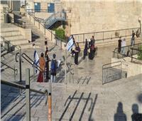 مستوطنات إسرائيليات يقتحمن منطقة باب العامود بالقدس ويرفعن أعلام إسرائيل