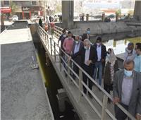 محافظ الجيزة: الانتهاء من كباري المشاة بجسر المريوطية نهاية الشهر