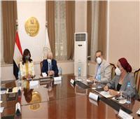 وزيرا التعليم والهجرة يبحثان إتاحة مناهج تعليمية على تطبيق «اتكلم عربي»