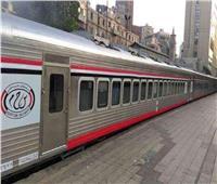حركة القطارات| التأخيرات بين  طنطا المنصورة ودمياط الثلاثاء