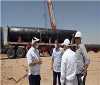 مسئولو «الإسكان» يتفقدون سير العمل بمشروع محطة مياه جديدة بمدينة بدر