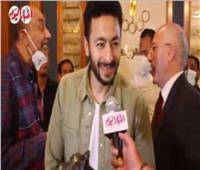 حمادة هلال يكشف مصير الجزء الثاني من مسلسل «المداح»| فيديو