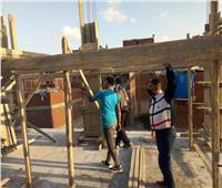 إزالة مخالفات بناء بـ 7 عقارات في أحياء الإسكندرية.. صور
