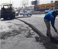 رئيس جهاز«دمياط الجديدة»: يتفقد أعمال تطوير الطريق الرئيسي