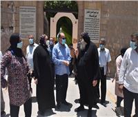 محافظ أسيوط يتفقد أعمال تطوير مسار رحلة العائلة المقدسة بـ«القوصية»