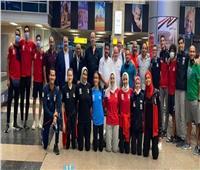 بعثة التايكوندو تصل القاهرة بعد التألق في البطولة الإفريقية بالسنغال