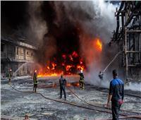 إصابة 24 شخصا في حريق بمصنع في إيران