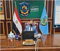رئيس جامعة دمنهور يشهد حلقات نقاشية مع جامعة مساريك بالتشيك