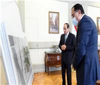 الأكبر من نوعها في الشرق الأوسط.. الرئيس السيسي يستعرض مخطط تطوير الفسطاط
