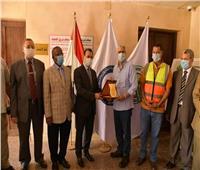 بالصور : وفد من جامعة الوادى الجديد يزور مقر شركة فوسفات مصر بابو طرطور