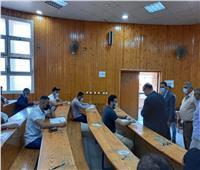 نائب رئيس جامعة المنصورة يتفقد امتحانات كلية الٱداب