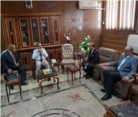 محافظ شمال سيناء يؤكد على سرعة إنهاء مشروع مجمع الورش الحرفيةبالمساعيد