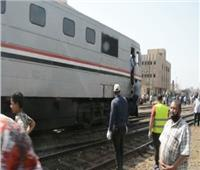 فيديو وصور| عودة الحركة السكة الحديد لطبيعتها بعد حادث قطار بنها