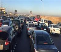 كثافات متحركة بشوارع وميادين الجيزة