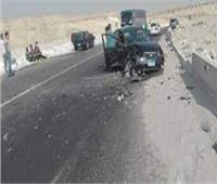 مصرع وإصابة 3 أشخاص في حادث تصادم بالبدرشين