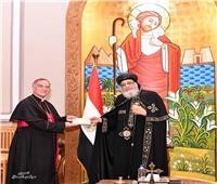 البابا تواضروس يستقبل سفير الفاتيكان
