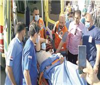١٦ جراحة لفلسطينين من غزة بالعريش