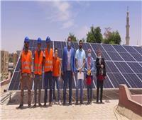تشغيل المكتبة العامة في الوادي الجديد بالطاقة الشمسية