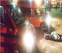 مصرع وإصابة 4 أشخاص فى انقلاب سيارة ميكروباص بابو المطامير