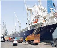 تحصيل 5 مليون فرق ضرائب على النولون البحري بجمارك السويس