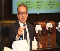 وزيرالسياحة: رضا السائحين ضمناستراتيجية الترويج السياحي لمصر
