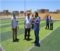 رئيس جهاز «أسيوط الجديدة»: تسليم ملعبي «خماسي» لوزارة الشباب والرياضة