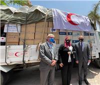 مصر تتسلمأجهزة ومستلزمات طبيةمنمنظمة الهجرة الدولية لتوصيلها لفلسطين