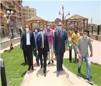 محافظ المنوفية يدشن أعمال مشروع الصرف الصحي بمنطقة الشيخ رمضان