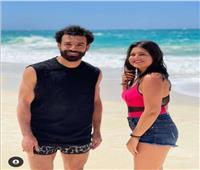 ديانا هشام تثير الجدل بصورة جديدة مع «مو صلاح»